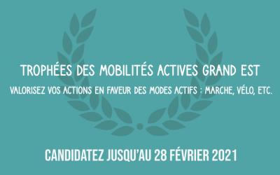 Lancement des trophées des Mobilités Actives Grand Est